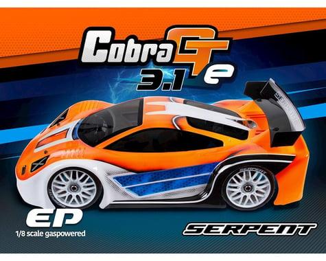 Serpent Cobra GTe 3.1 1/8th Electric On Road Sedan Kit
