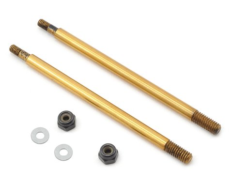 Serpent Ti-Nitride Coated Front Shock Shaft (2)