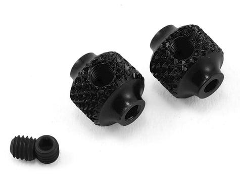 Serpent SRX8 EVO Aluminum Brake Adjust Collar (Black) (2)