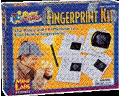 Slinky Science Mini Lab Fingerprint Kit