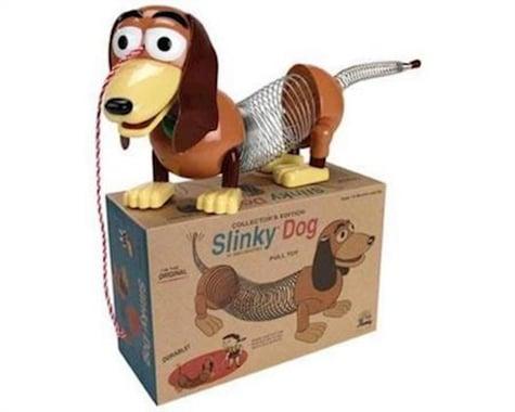 Slinky Science Slinky Dog in Retro Packaging