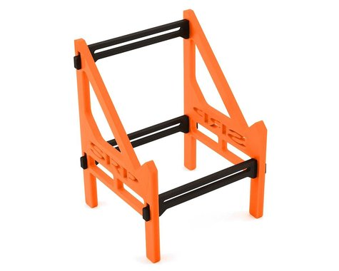 Schaffner Racing Products Junsi 406/308 Duo 5 Piece Charger Stand (Black/Orange)