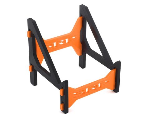 Schaffner Racing Products Junsi 308/406 Duo V2 Charger Stand (Black/Orange)