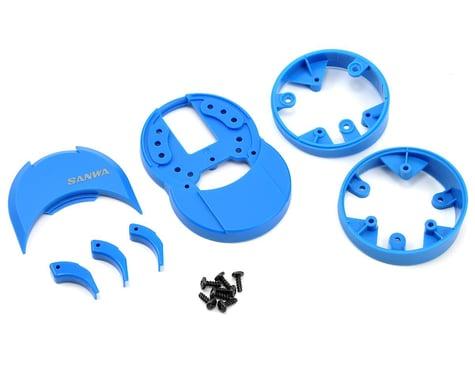 Sanwa/Airtronics M12/M12S Plastic Drop Down (Blue)