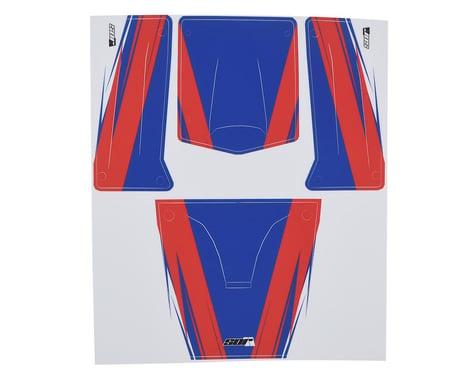SOR Graphics Undercut Axial Capra Wrap (Red/White/Blue - Matte)