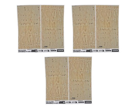 SOR Graphics 1/10 Scale Plywood Detail Kit (3)
