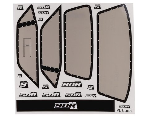 SOR Graphics Eliminator Pro-Line 'Cuda Window Decals (Tint)
