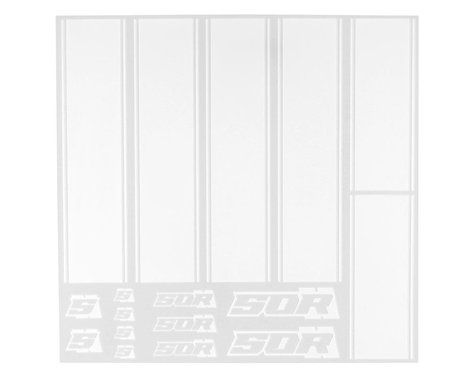 SOR Graphics QuickStripes for Drag Race Bodies (White)