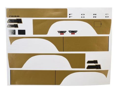 SOR Graphics Traxxas TRX4 Bronco Decal Sheet (Gold Metallic)