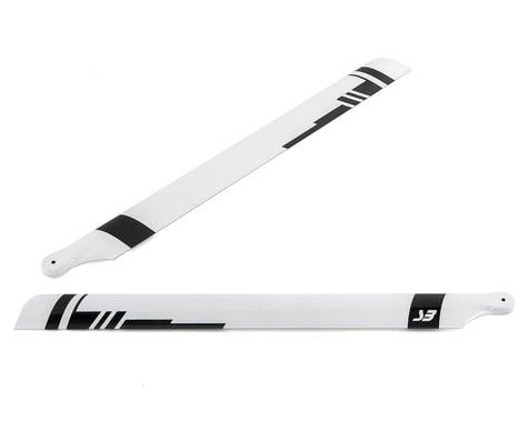 Spin Blades Black Belt 720mm Carbon Fiber Main Blade Set