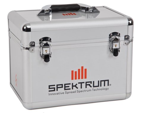 Spektrum RC Aluminum Single Aircraft Transmitter Case