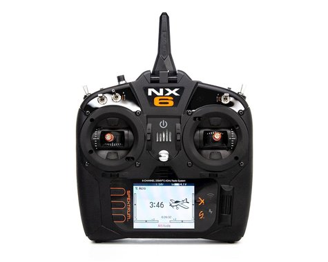 Spektrum RC NX6 2.4GHz DSMX 6-Channel Radio System w/AR6610T Receiver