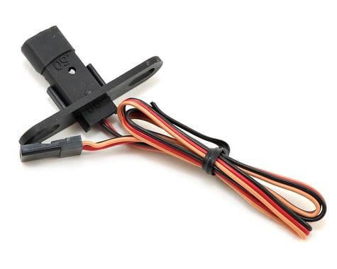 Spektrum RC Aircraft RPM Sensor & Bracket w/Std Servo Connector
