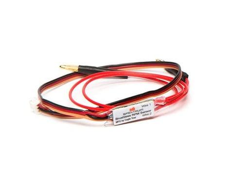 Spektrum RC DSMX/DSMR Telemetry BL RPM Sensor with Bullets