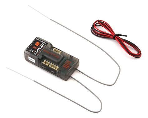 Spektrum RC AR6610T 6 Channel DSMX Aircraft Telemetry Receiver