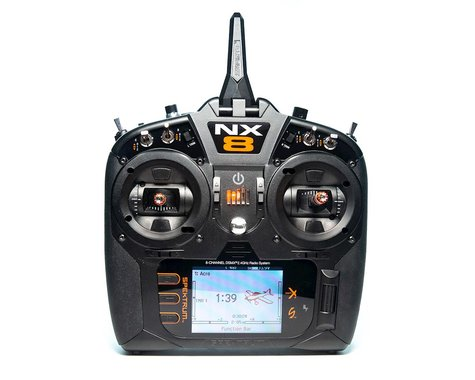 Spektrum RC NX8 2.4GHz DSMX 8-Channel Radio System (Transmitter Only)