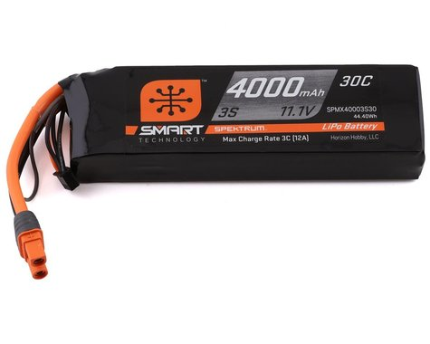 Spektrum RC 3S Smart LiPo Battery Pack w/IC3 Connector (11.1V/4000mAh)