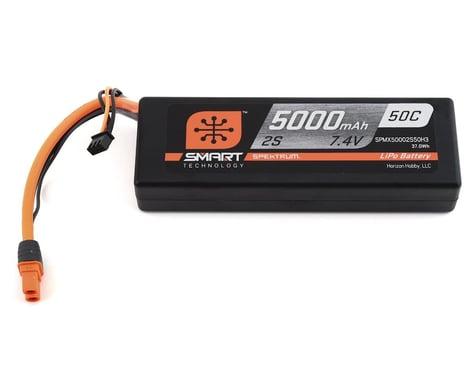 Spektrum 2S 7.4V 5000mAh 50C Hardcase Smart LiPo IC3 SPMX50002S50H3