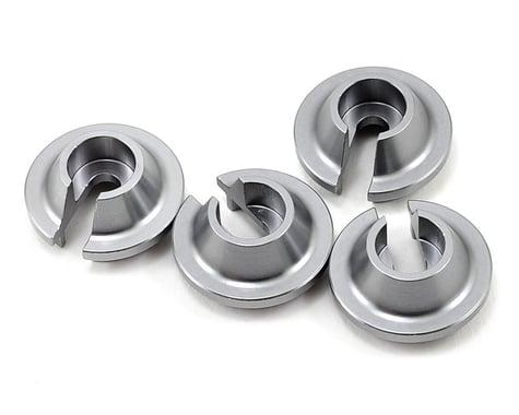ST Racing Concepts Aluminum Shock Spring Retainer (4) (Gun Metal)