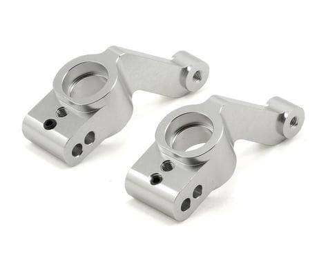 ST Racing Concepts Aluminum Rear Hub Carriers (Silver) (2) (Slash 4x4)