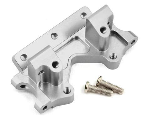 ST Racing Concepts Aluminum Front Bulkhead (Silver)