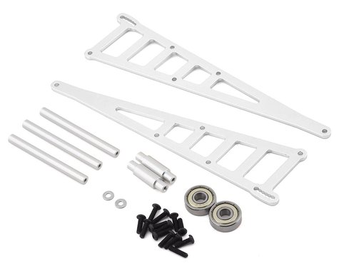 ST Racing Concepts Traxxas Slash Aluminum Adjustable Wheelie Bar Kit (Silver)