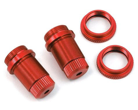 ST Racing Concepts Traxxas 4Tec 2.0 Aluminum Threaded Shock Bodies (2) (Red)