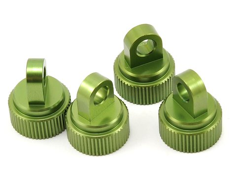 ST Racing Concepts Aluminum Shock Cap (Green) (4)