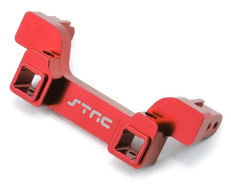 ST Racing Concepts Aluminum TRX-4 Heavy Duty Rear Bumper Mount (Red)
