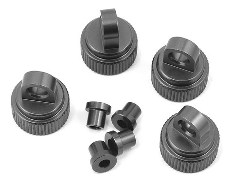 ST Racing Concepts Traxxas 4Tec 2.0 Aluminum Shock Caps (4) (Gun Metal)