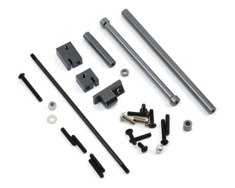 ST Racing Concepts SCX10 Aluminum Off-Axle Servo Mount/Panhard Kit (Gun Metal)