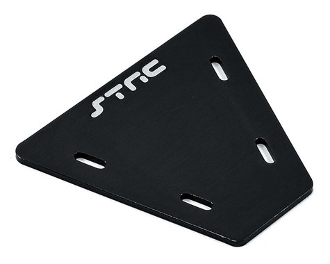 ST Racing Concepts Aluminum Electronics Mounting Plate (Black)
