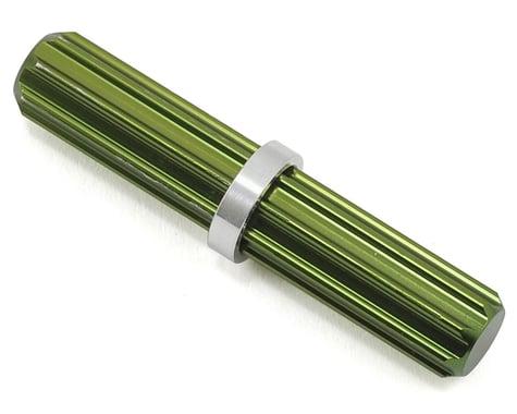 ST Racing Concepts Aluminum Center Driveshaft Spline (Green)