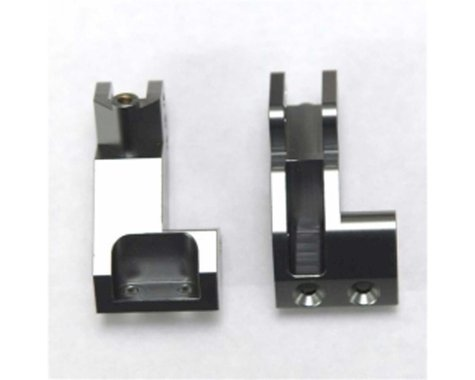 Aluminum Rear 4-Link Suspension Mount, Gun Metal (2): Yeti