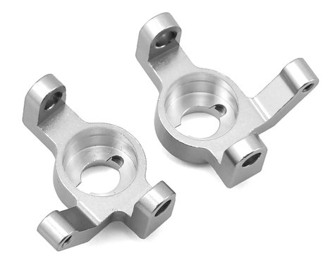 ST Racing Concepts Wraith/RR10 Aluminum V2 Steering Knuckle Set (2) (Silver)