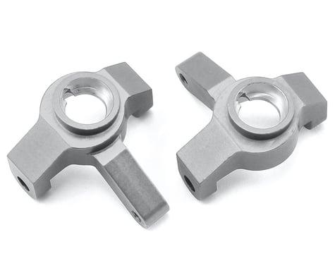 ST Racing Concepts SCX10 II Aluminum Steering Knuckles (Silver)