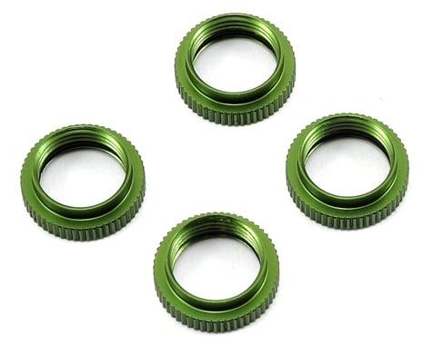 ST Racing Concepts Yeti Aluminum Shock Collar w/O-Ring (4) (Green)