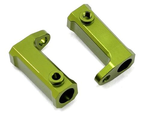 ST Racing Concepts SCX10 Aluminum Side Rail Mount Brackets (2) (Green)