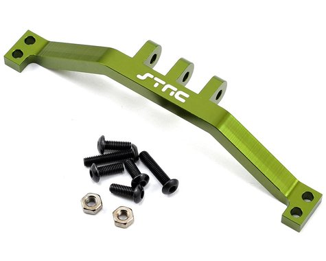 ST Racing Concepts SCX10 Aluminum Rear Upper Link Mount Bracket (Green)