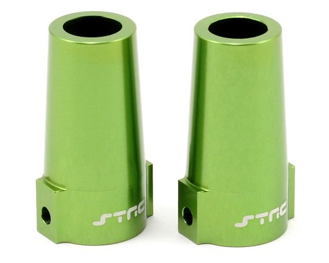 ST Racing Concepts Aluminum Rear Lock Out Set (Green) (2)