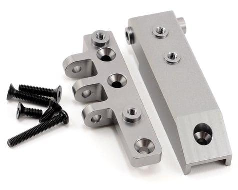ST Racing Concepts Aluminum HD Rear Upper Link Mount (Gun Metal)