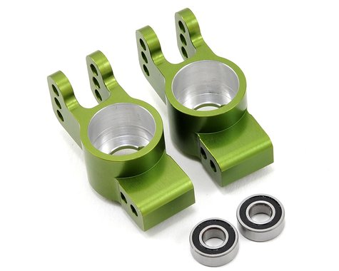 ST Racing Concepts Rear Hub Carrier Set w/Outer Bearings (Green)