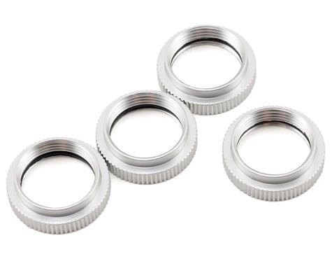 ST Racing Concepts Aluminum Spring Collar Set (Silver) (4)