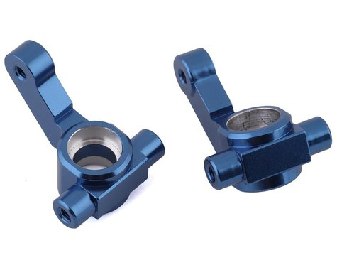 ST Racing Concepts DR10 Aluminum Steering Knuckles (Blue) (2)