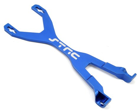 ST Racing Concepts Aluminum Battery Strap (Blue)