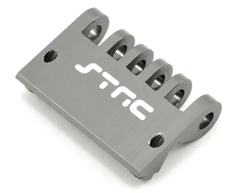 ST Racing Concepts Aluminum HD Rear Bumper/Skid Plate (Gun Metal)