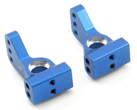 ST Racing Concepts Aluminum VLA 0° Rear Hub Carrier Set (Blue) (2)
