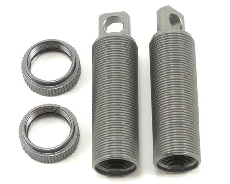 ST Racing Concepts Aluminum Threaded Front Shock Body & Collar Set (Gun Metal) (2)