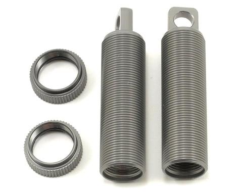 ST Racing Concepts Aluminum Threaded Rear Shock Body & Collar Set (Gun Metal) (2)