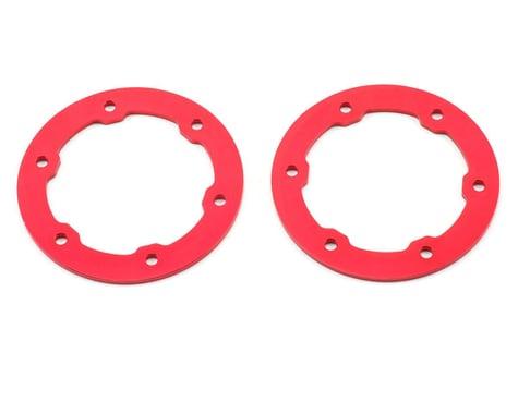 ST Racing Concepts Aluminum Beadlock Rings (Red) (2)